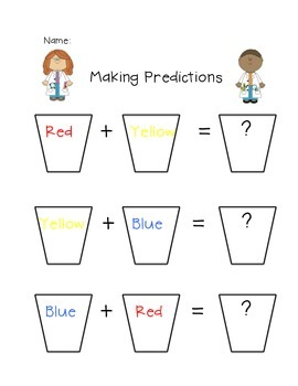 Mixing Colors Predictions