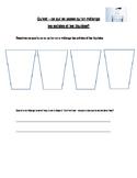 Mixing Liquids and Solids Worksheet. En francais