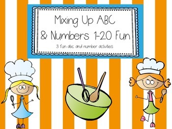 Mixing Up ABC's and Numbers 1-20 Fun