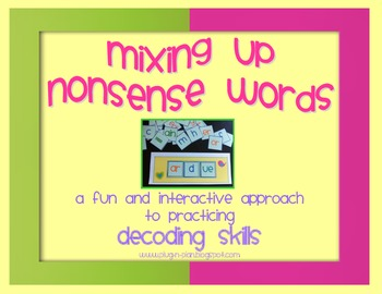 Mixing Up Nonsense Words
