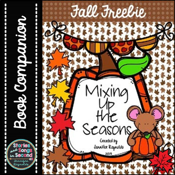Mixing Up The Seasons--Fall Vocabulary and Rhyming Practice {FREEBIE}