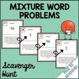 Mixture Problems Activity - Scavenger Hunt