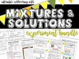 Mixture & Solutions Investigation (Separating Mixtures of
