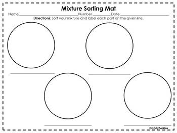 Mixture Sorting Mat