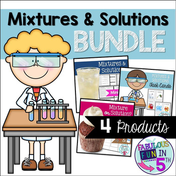 Mixture and Solution BUNDLE