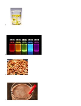 Mixture or Solution?