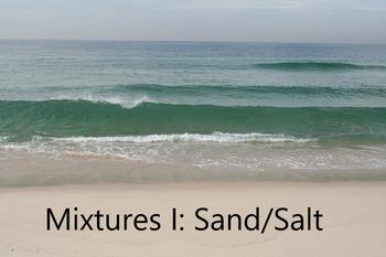 Mixtures 1: Sand/salt