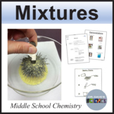 Separating Pure Substances Mixtures Activity, Physical and Chemical Changes
