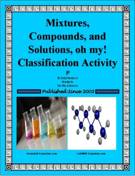 Mixtures, Compounds, and Solutions - oh my!