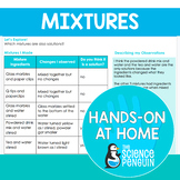 Mixtures {Hands-on at Home} | Distance Learning