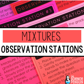 Mixtures Observation Stations