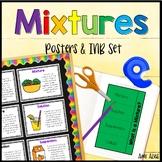 Mixtures Poster and Interactive Notebook INB Set