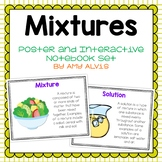 Mixtures Poster and Interactive Notebook INB Set
