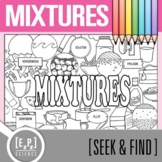 Mixtures Seek and Find Science Doodle Page