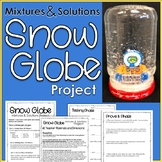 Mixtures and Solutions Snow Globe Project