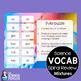 Mixtures Spiral Vocabulary Review