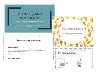 Mixtures and Compounds - Lesson & Activity
