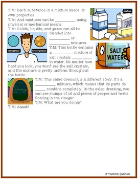 Mixtures and Compounds for BrainPOP video