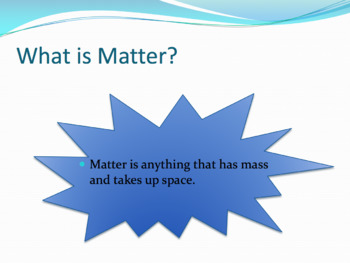 Matter and Properties Lesson