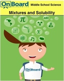 Mixtures and Solubility-Interactive Lesson