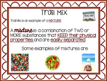 Mixtures and Solution Presentation and Notes