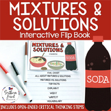 Mixtures and Solutions Interactive Flip Book