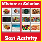 Mixtures and Solutions | Science Activity | 1st 2nd 3rd 4t