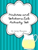 Mixtures and Solutions Activity Set