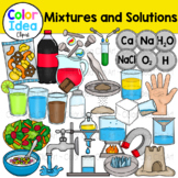 Mixtures and Solutions Clip Art Bundle