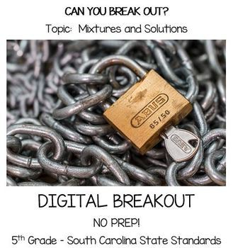 Mixtures and Solutions Digital Breakout