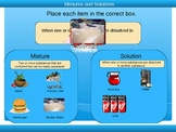 Mixtures and Solutions Powerpoint (3rd - 5th grade)
