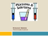 Mixtures and Solutions Science Slide Show