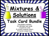 Physical Science:  Mixtures and Solutions Task Card Bundle