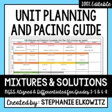 Mixtures and Solutions Unit Planning Guide