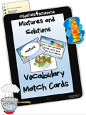 Mixtures and Solutions Vocabulary ( TEKS 4.5C)