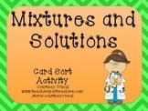 Mixtures/Solution Card Sort