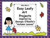 Mizz Mac's Easy Leafy Fall Art Projects