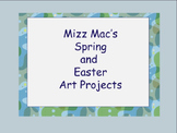 Spring and Easter Art Projects