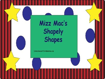 Shapely Shapes Art Project for back to School