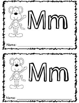 Mm Book RTI Letters and Sounds