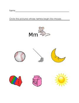 Mm Homework Sheet #1