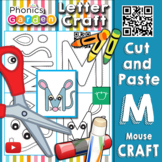 Mm | Letter Craft | Mouse | Uppercase M | Phonics Garden