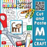 Mm | Letter Craft | monkey | Lowercase m | Phonics Garden