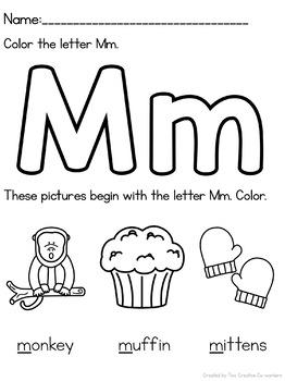 Letter M { Alphabet Practice }