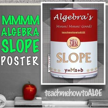 Mmmm Algebra's Slope Soup