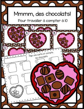Mmmm, des chocolats!