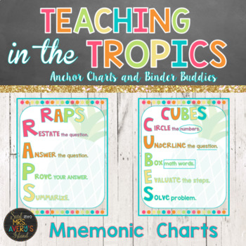 Mnemonic Anchor Charts for Math