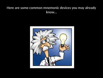 Mnemonic Devices: A Tool to Remember