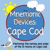 Mnemonic Devices:  Cape Cod