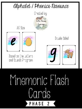 Mnemonic Flash Cards A5